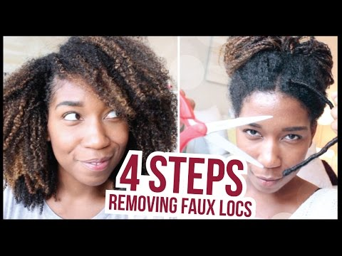 4 Easy Steps to Remove Faux Locs - Naptural85