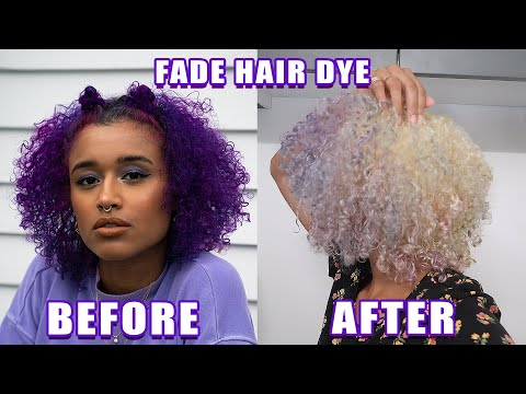 HOW TO FADE OUT HAIR DYE WITHOUT RUINING YOUR HAIR (7 METHODS)
