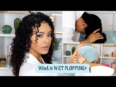 Overnight WET PLOPPING for Maximun Definition & LESS Drying Time!