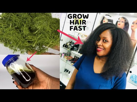 YOUR HAIR WILL GROW LIKE CRAZY IF YOU USE THIS OIL- GROW HAIR Long , Thick & Healthy ...
