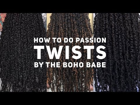 PASSION TWIST FULL TUTORIAL! 2018 BY THE CREATOR OF PASSION TWIST