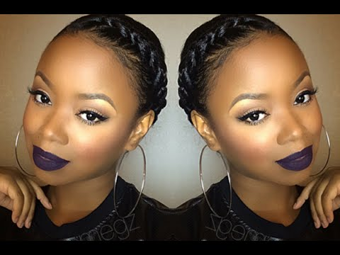 Easy Spring Granny Braid Tutorial | Protective Style