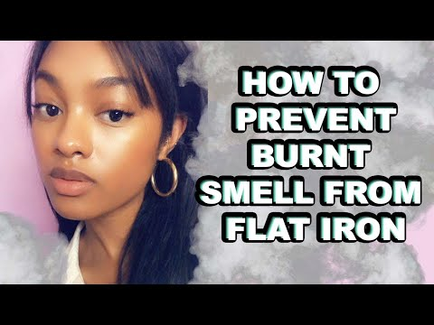 HOW TO Prevent Burnt Hair Smell | Heat Training Hair