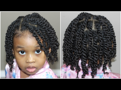 Two Strand Twists for Kids | Natural Hair