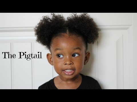 Pigtail Hairstyle 👧🏾 | Hair Tutorial for Little Girls
