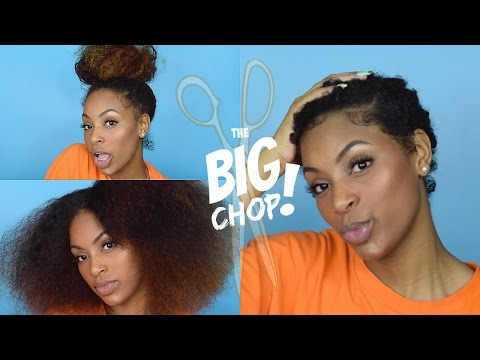 The Big Chop 2016: Starting My New Natural Hair Journey