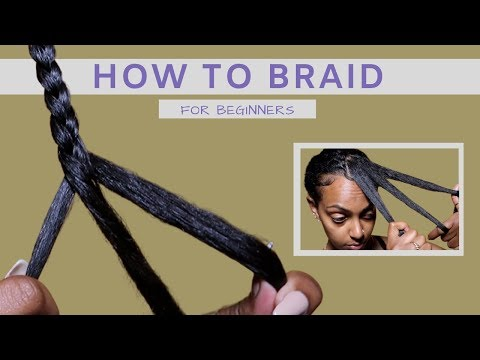 HOW TO: Braid Your Own Hair | For Beginners