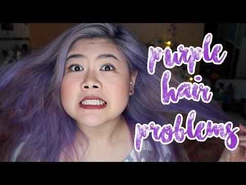 Purple Hair Problems