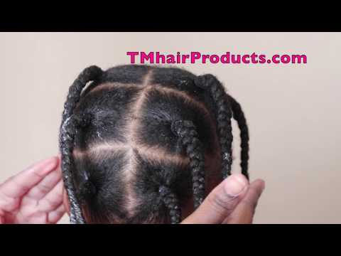 How To Stretch 4c Natural Hair | TM Hair Products
