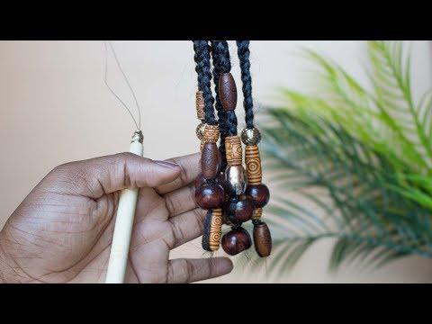 How to Add Beads to Box Braids Locs & Twists | Jorie Hair