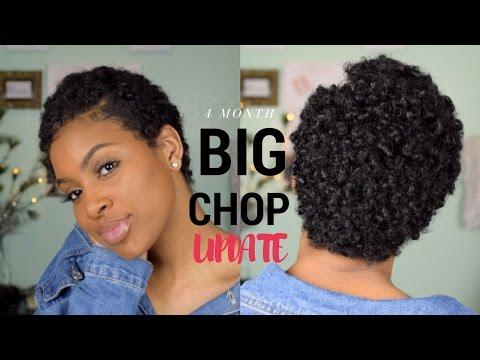 4 Month Post Big Chop Update! | Hair Type, Biotin, Coloring My Hair?