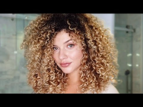 MY BEST TIPS FOR BIG VOLUMIZED CURLY HAIR