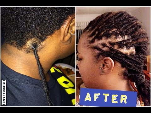 ATTACHING HANDMADE PERMANENT LOCS EXTENSIONS | HOW I DO IT (part 2)