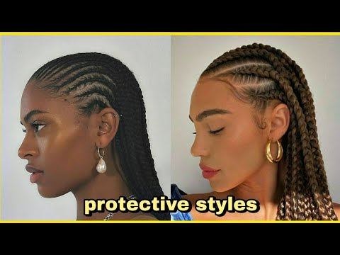 ✨PROTECTIVE STYLES COMPILATION✨