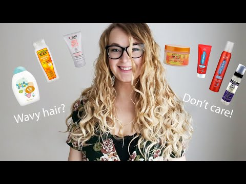 2A, 2B, 2C Wavy Hair Routine   UK available hair products