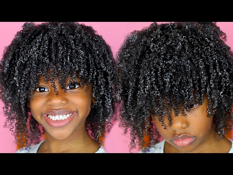 Quick and Easy Wash & Go for Kids Using ONLY 2 PRODUCTS!