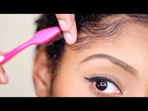 How To: Carmen's Edges & Sideburn Swoops