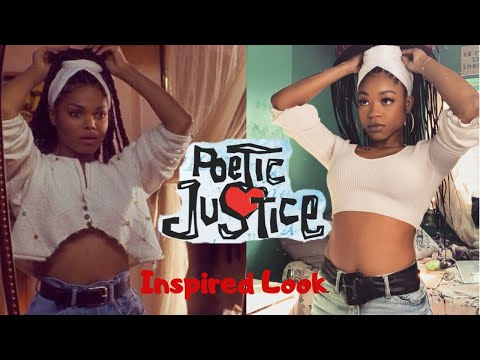 Poetic Justice Inspired Look! Hair, Makeup + Outfit!