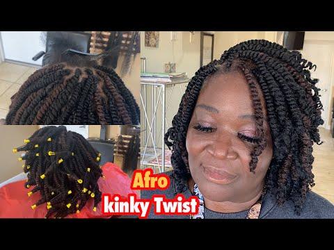 Afro Kinky Twist Tutorial | Short Twist |