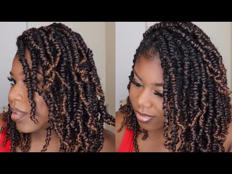 How To: Spring Twist on Natural Hair 😍