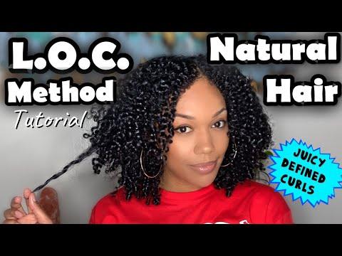 L.O.C. METHOD ON NATURAL HAIR