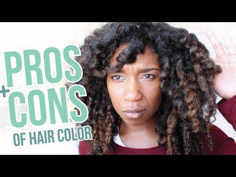 Pros + Cons | Should You Color Dye Your Natural Hair | HONEST Thoughts