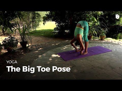 Learn the Big Toe Pose - Padangusthasana | Yoga