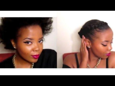 Natural Hair | Grecian Goddess Braids (with Marley Braiding Hair)