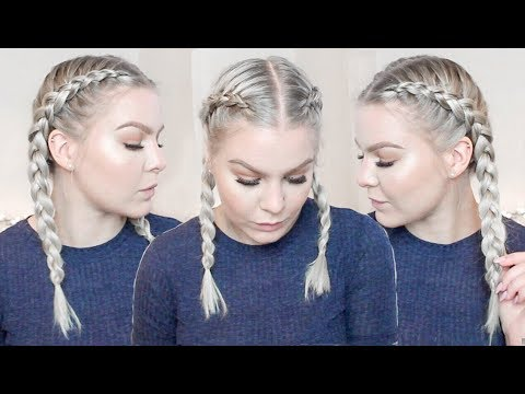 How To Dutch Braid Your Own Hair Step By Step For Complete Beginners - FULL TALK THROUGH