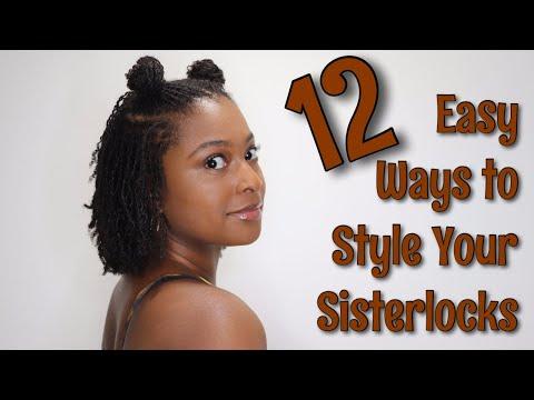 Quick & Easy Sisterlock Hairstyles