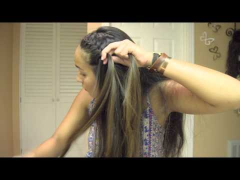 How to: French Braid Into a Bun