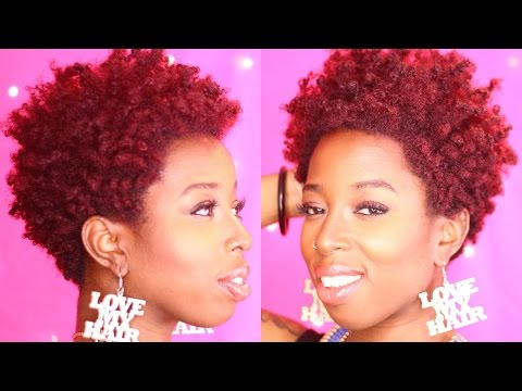 How to maintain Red colour treated Natural hair