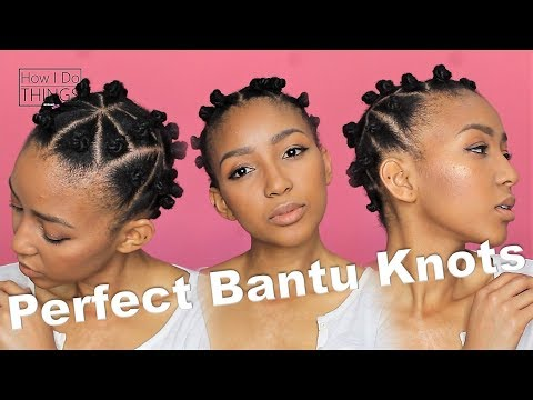 The simple SECRET to the perfect Bantu Knots on Natural Hair | feat. My Natural | KopanoTheBlog