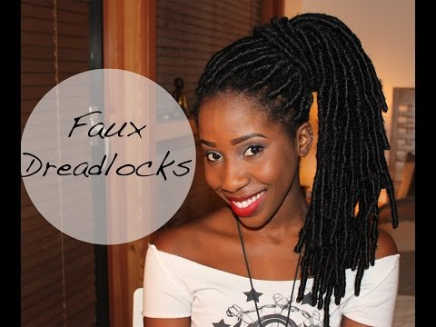 HOW TO GET FAUX DREADLOCKS TUTORIAL | AdannaDavid