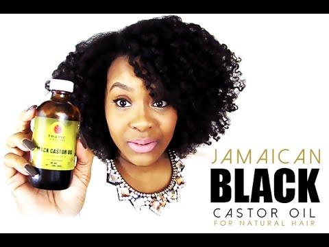 NATURAL HAIR | JAMAICAN BLACK CASTOR OIL for Hair Growth