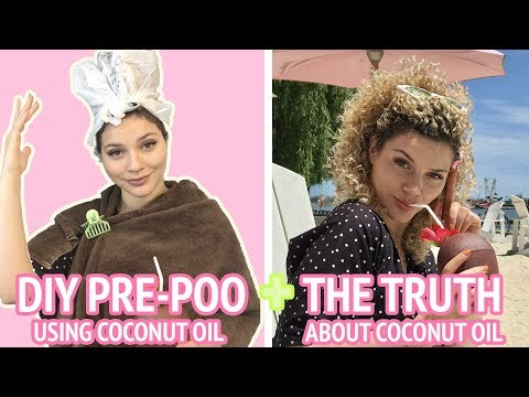 HOW TO PRE POO USING COCONUT OIL + THE TRUTH ABOUT USING COCONUT OIL