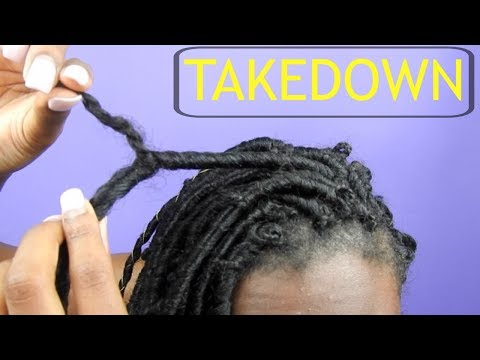 How To: Safely Take Down Individual Faux Locs in 20 minutes