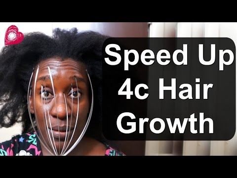3 WAYS To GROW Natural HAIR FASTER| Easy Scalp Massaging Methods