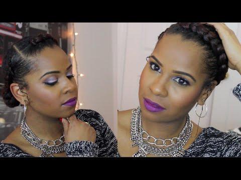 The Goddess Braid| Protective Style Natural Hair