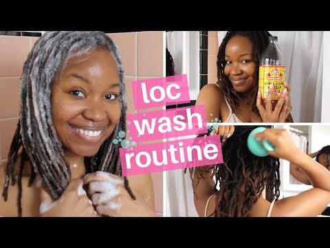 Loc Wash Day Routine