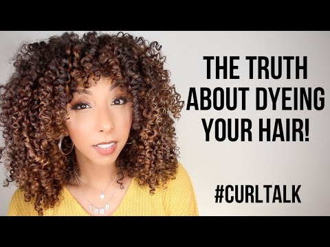 CURL TALK: The TRUTH About Dyeing Your Hair | BiancaReneeToday