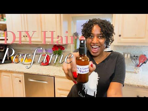 Moisturizing Hair Fragrance DIY | Sisterlocks