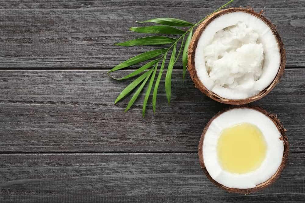 using coconut oil for dandruff