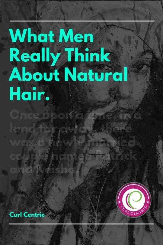 what men really think about natural hair