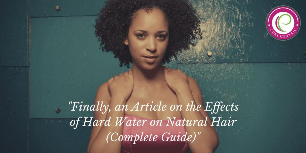 effects of hard water on hair