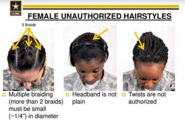 Army Regulation 670-1: Military Hairstyles for Women