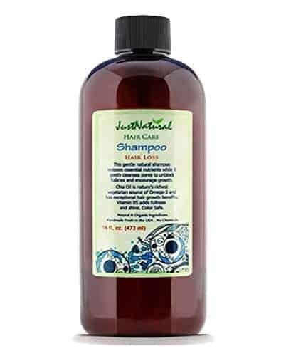 Just Natural Organic Hair Loss Shampoo