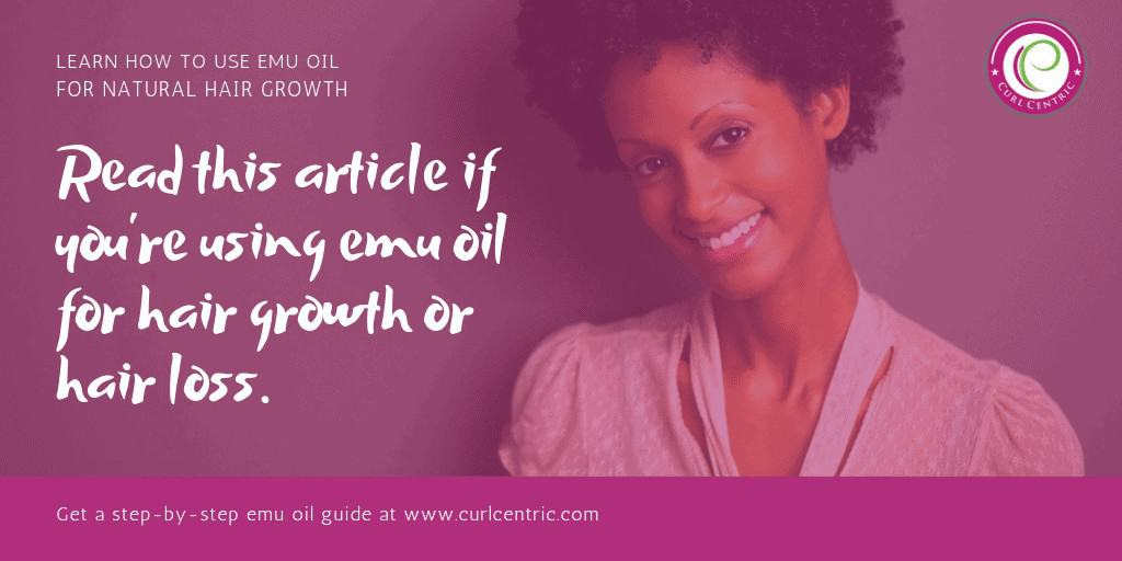 Emu Oil for Hair Loss or Hair Growth