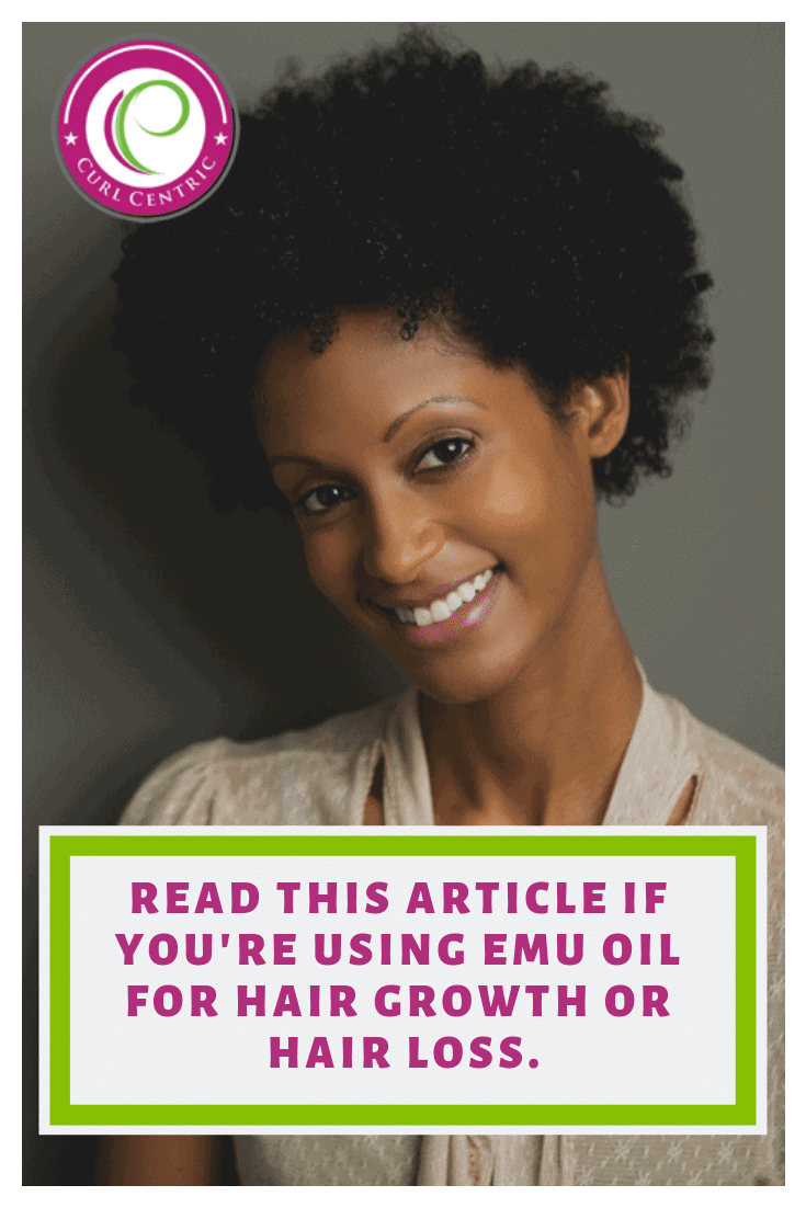 Read this article if you're using emu oil for hair growth or hair loss