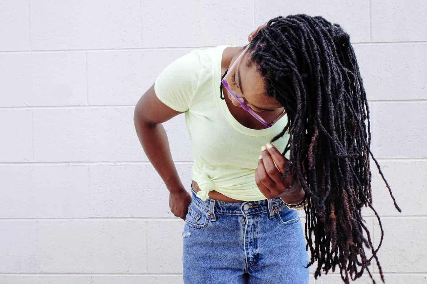 short natural twist dreadlocks hairstyles